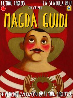 ✱ MAGDA GUIDI @ FLYING CIRCUS ✱ TONIGHT H 21 ca BARI