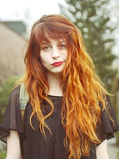 I would totally dye my hair this color.. if I dyed my hair lol