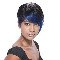 Today's wigs for women are more realistic than ever. Shop our selection of innovative products, made with various grades of human hair, to find yours! Pixie Haircut Styles, Short Hair Styles, Natural Hair Styles, Crochet Braids Hairstyles, Wig Hairstyles, Hairstyle Ideas, Freetress Wig, Beauty Hair Extensions, Dramatic Hair