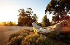 Phillip Johnstone landscape at Lubra Bend, Vic, Aust.