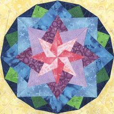 Quilt Patterns Free Quilt Patterns eQuiltPatterns.com: Almaaz Quilt Block
