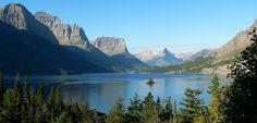 Saint Mary´s Lake. Estados Unidos.
