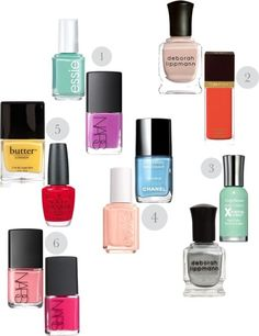fingers and toes combos Gorgeous Nails, Love Nails, Pretty Nails, Gel Manicure Nails, Mani Pedi, Manicures, Nail Polishes, Essie, Nail Color Combos