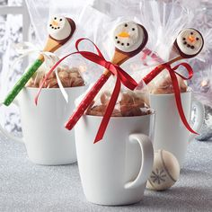 Snowman Spoonfuls - The Pampered Chef®