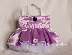 Sofia the First Princess Tote Bag by WhitneyBoutique on Etsy