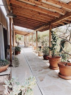 exterior of malibu airbnb accommodation / sfgirlbybay Outdoor Rooms, Outdoor Living, Landscape Design, Garden Design, Outside Patio, Patio Roof, Bohemian Patio, Mexico House, Backyard Landscaping