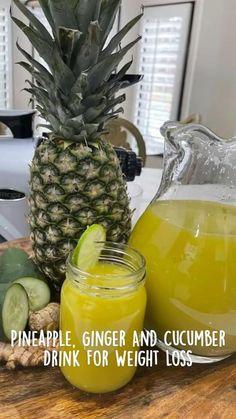 Healthy Juicer Recipes, Healthy Detox, Healthy Juices, Healthy Smoothies, Healthy Drinks, Detox Smoothies, Juice Recipes, Smoothie Recipes, Weight Loss Detox