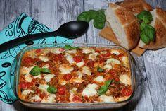 Good Mood, Diy Food, Mozzarella, Vegetable Pizza, Lasagna, Nom Nom, Paleo, Food And Drink, Menu
