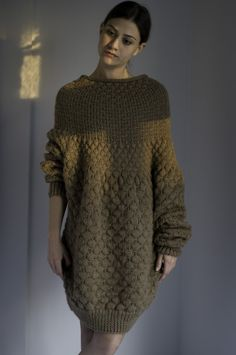 DUMADUMADUM SWEATER/DRESS by NihanAltuntas on Etsy