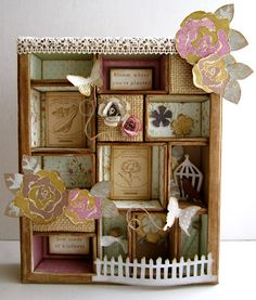 Tim Holtz Configurations Box. :) I am teaching this class on 5/22 ... can't wait!