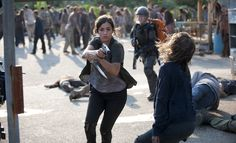 alana masterson on the walking dead | The Walking Dead season 4 'Inmates' recap: Survivors on the run - The ...