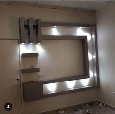 Lcd Unit Design, Lcd Panel Design, Tv Wall Design, Ceiling Design, Tv Wall Panel, Tv Unit Furniture Design, Tv Unit Decor, Classic House Design, Home Design Living Room