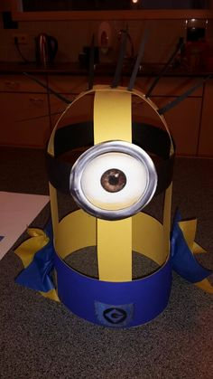Minion verjaardagsmuts Minion Birthday, Birthday Gifts For Kids, Boy Birthday Parties, Diy Birthday, Birthday Crowns, Minions, Minion Hats, Hat Day, Fun Arts And Crafts