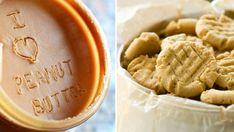 Recept: Världens enklaste kakor med jordnötssmör Lchf, Nom Nom, Peanut Butter, Inspiration, Biblical Inspiration, Inspirational, Nut Butter