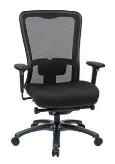 Black ProGrid High Back Chair Freeflex Seat OSP-97720-30