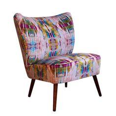 Vintage 1950s Bartolomew Chair In Chance Velvet