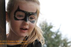 Paint on masks, and more superhero party ideas