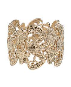 Damask Cutout Bracelet  CAD