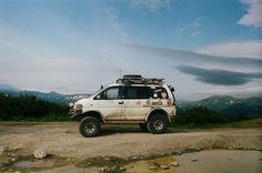 """""""Russian high country adventuremobile - Mitsubishi Delica """""""
