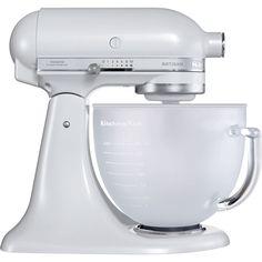 4.8 L KitchenAid ARTISAN Stand Mixer - Frosted Pearl 5KSM156 - Kitchenaid UK Site