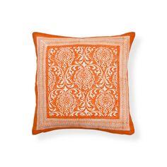 Coussin Imprimé Orange | ZARA HOME Canada