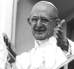 Pope Paul VI, shown here in a 1977 file photo, was among recent popes who loved the arts and reached out to artists. (CNS/Arturo Mari, L'Osservatore Romano).