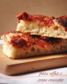 Pizza in teglia soffice  |   Mamma Papera