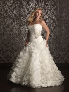 plus size ball gown wedding dresses - women's dresses for weddings Check more at http://svesty.com/plus-size-ball-gown-wedding-dresses-womens-dresses-for-weddings/