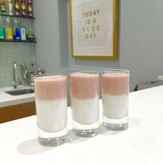 """Coconut ice"" coconut cream half & half, Malibu rum and strawberry liquor. Malibu Rum, Bar Lounge, Coconut Cream, Pillar Candles, Liquor, Strawberry, Ice, Jewels, Coconut Custard"