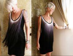 Platinum hair tops light to dark ombre