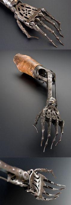 Victorian artificial arm...(Europe, 1850-1910)