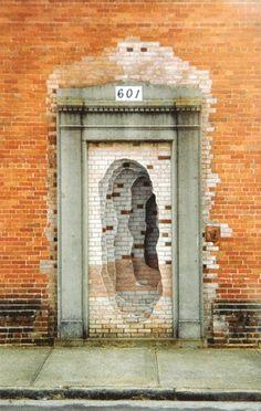 """Scott Hazard: """"Introjection: Durham, North Carolina—Sealed Door"""""""