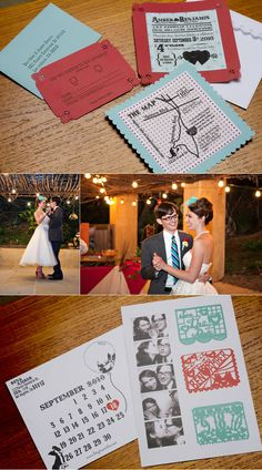 DIY-Save the Date #stationary