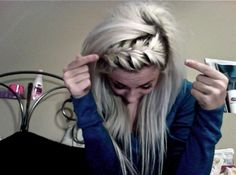 front french braid