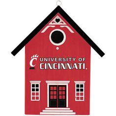 University of Cincinnati Bearcats Birdhouse