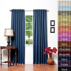 Thermal Curtains: colors