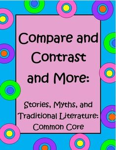 This activity is designed to help students to use the skill of comparing and contrasting bu using the vinn diagram when comparing two or more stories. 5th grade