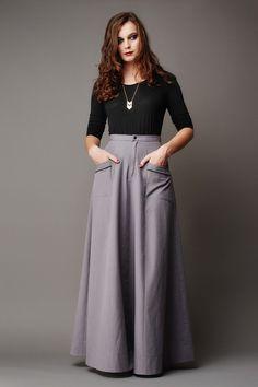 Deer and Doe - Fumeterre Skirt