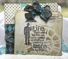 Anne's paper fun: Live the life you've imagined...