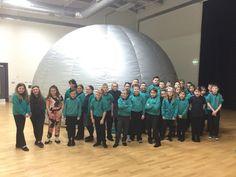 Wonderdome Mobile Planetarium. Inspiring children to love astronomy.