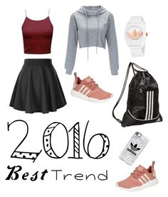 """#10"" by batwoman15 ❤ liked on Polyvore featuring adidas and Casetify"