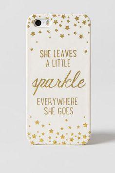 Sparkle Everywhere iPhone 5 Case