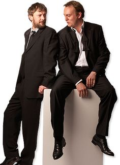 Simm and Glenister. Be still my heart.