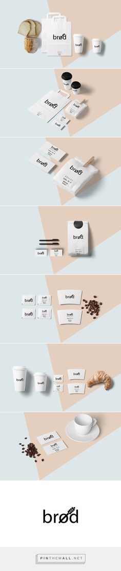 branding. brød. on Behance - created via http://pinthemall.net