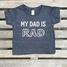 nicky   stella: my dad is rad tee