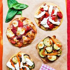 Have a #SoccaPizza party this bank holiday weekend! These #glutenfree, wholesome pizza bases are simply made from #chickpeaflour and water. Find the recipe in #TheArtOfEatingWell
