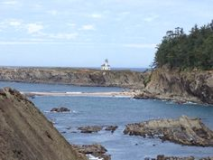 """""""Sunset Bay Lighthouse, Oregon"""" by TravelPod blogger thedanes from the entry """"The unofficial beginning of the journey"""" on Sunday, May 25, 2014 in Coos Bay, United States"""