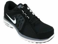 Nike Men's Dual Fusion Run Running Black Running Shoes, Running Shoes For Men, Mens Running, Nike Shoes, Sneakers Nike, Nike Dual Fusion, Nike Outlet, Nike Free, Black And Grey