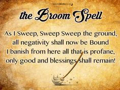 Broom Spell                                                                                                                                                                                 More