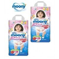 6 PACKAGE Moony Pull-Up 12-17kg (BİG) 38 pc GİRL